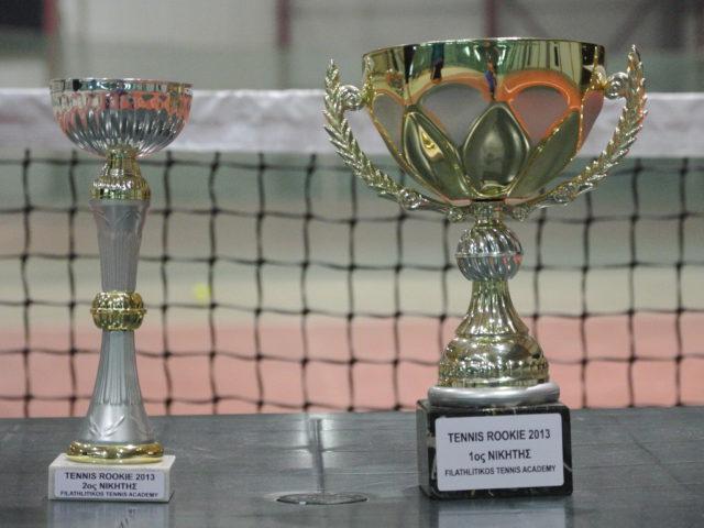 Αποτελέσματα Tennis Rookie 2013