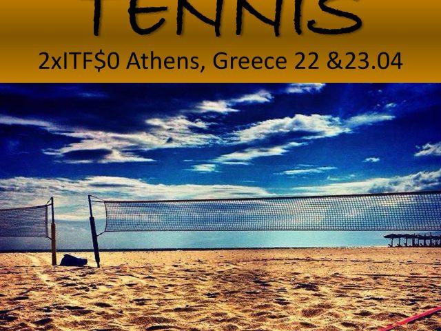 Athens Beach Tennis Cup 22&23.04.2017