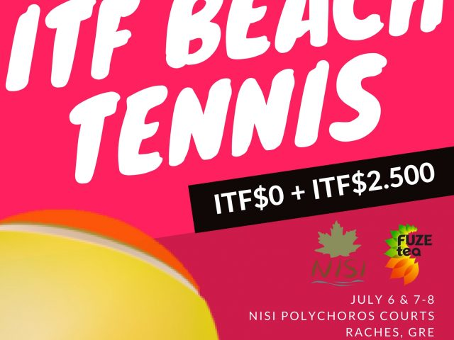 RACHES ITF$0 + $2.500 BEACH TENNIS CUP